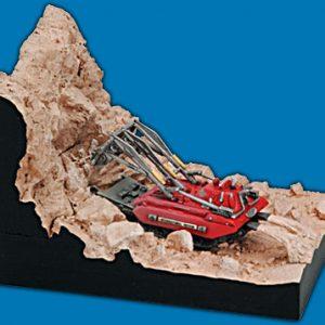 Thunderbirds Escavator Diorama Konami