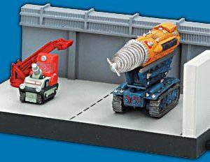 Thunderbirds Mole Hanger Konami