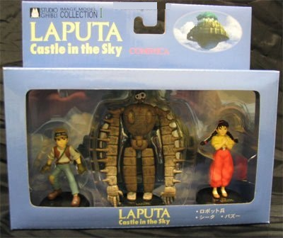 Laputa Set of 3 Figure Tsukuda Hobby