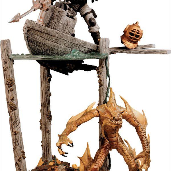 Monster Line Sea Creature Action Figure Mc Farlane Toys