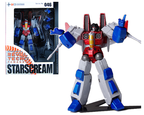 Transformers G-1 Starscream Revoltech Kayodo