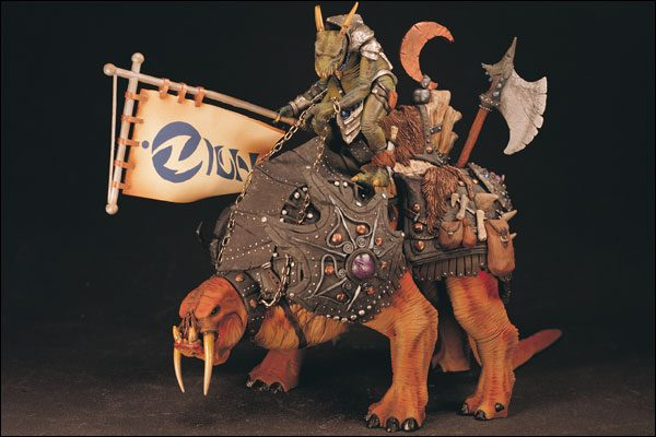 Spawn Iguanus e Tuskadon Action Figure Mc Farlane Toys