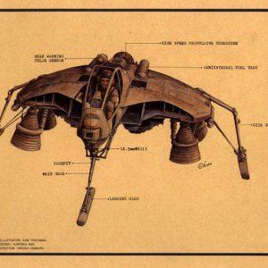 MASCHINEN KRIEGER (SF-3D) Fledermause Fighter Model Kit Nitto