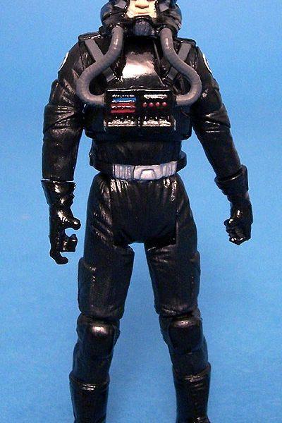 Star Wars Action Figure Clone Pilot Black Hasbro