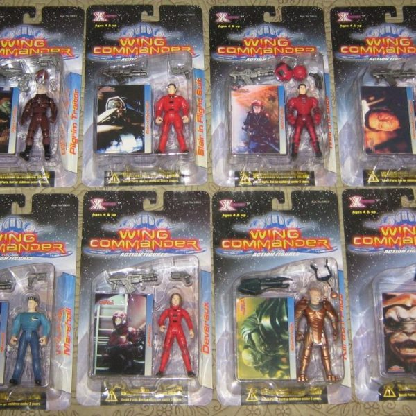 Wing Commander Action Figure Set of 8  X-Toys