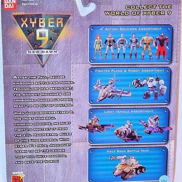 Xyber-9 Willy Action Figure Bandai