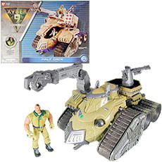 Xyber-9 Half Tank Bandai