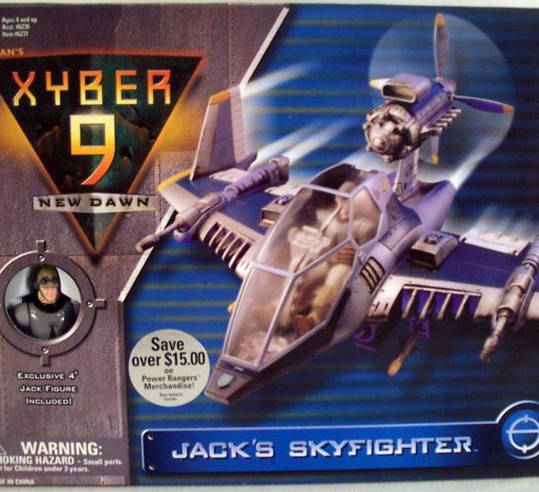 Xyber-9 Skyfighter BIG Bandai