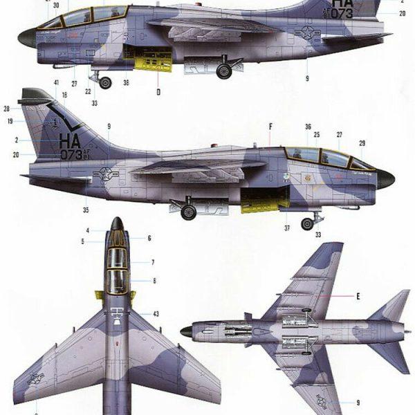 A-7K Corsair 1/72 Hobby Boss