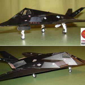 F-117 Stelth Fighter  Die Cast Model 1/72