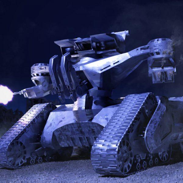 Terminator Hunter Killer Tank Die Cast Neca