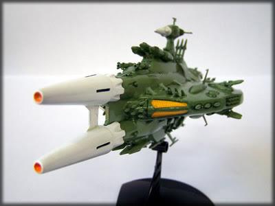 Yamato Comet Empire Gorland Missile ShipBandai
