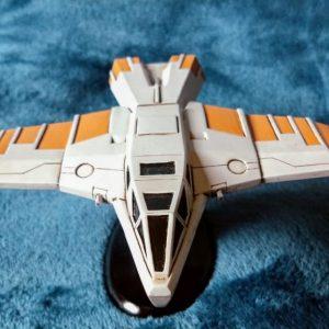 Buck Rogers Hawk Starfighter Resin Model