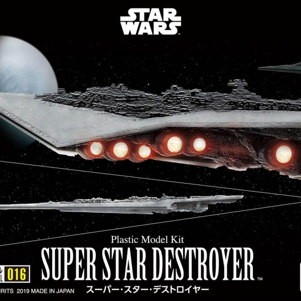 Star Wars SUPER STAR DESTROYER Bandai