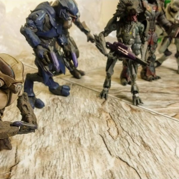 HALO Reach Covenant Set-1 Mc Farlane Toys