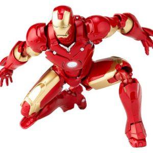 Marvel Iron Man Homem de Ferro MK-III Midas Revoltech Kaiyodo