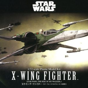 Star Wars Ep.09 T-70 X-Wing Fighter 1/72 Model Kit BANDAI