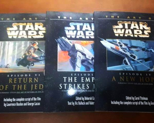 Livros The Art of Star Wars Set de 3 (Trilogia Clássica)