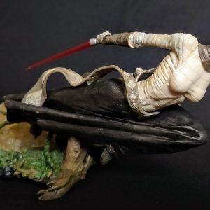 Star Wars Asajj Ventress Unleashed Statue  Hasbro