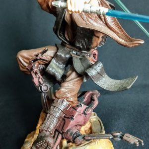Star Wars Anakin Skywalker Unleashed Statue  Hasbro