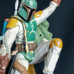 Star Wars Boba Fett Unleashed Statue Hasbro