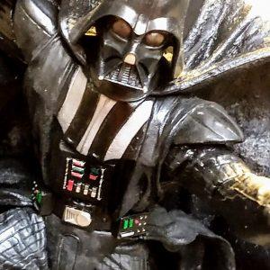 Star Wars Darth Vader Unleashed Statue Hasbro