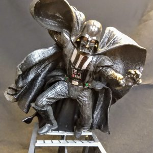 Star Wars Darth Vader Unleashed Statue Hasbro
