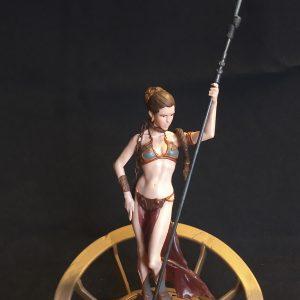 Star Wars Princess Leia Unleashed Statue Hasbro