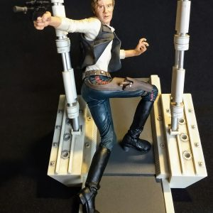 Star Wars Han Solo Unleashed Statue Hasbro