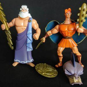 Disney Hércules e Zeus Action Figure Mattel