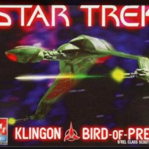 Star Trek klingon Bird of Pray AMT