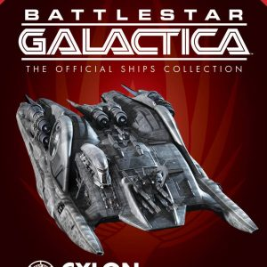 Battlestar Galactica Heavy Cylon Raider Eaglemoss
