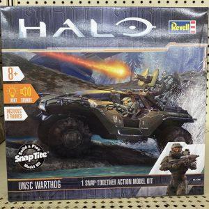 HALO Warhog Eletronic Kit Revell