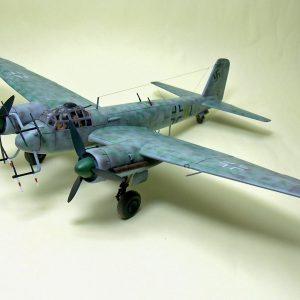 Ju-88 G6 Model Kit 1/72 Zvezda