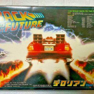 Back to the Future Time Machine 1/24 Aoshima