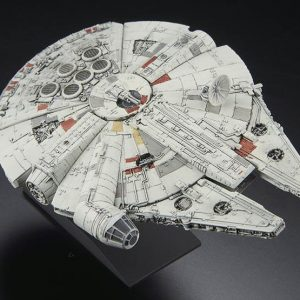 Star Wars Millenium Falcon EP-04 Mini Bandai