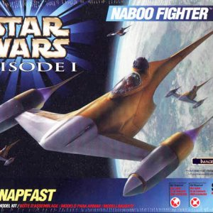 Star Wars Naboo Fighter Model Kit AMT