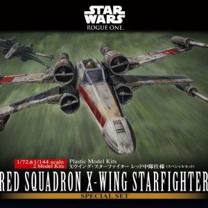 Star Wars X-Wing Fighter Set 1/72 e 1/144 Kit BANDAI