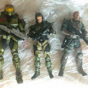 HALO WARS Action Figure Set Mc Farlane Toys