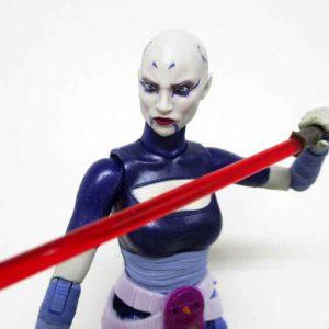 Star Wars Asajj Ventress Black Series 6 Hasbro