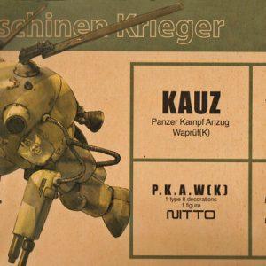 MASCHINEN KRIEGER (SF-3D) Kauz Model Kit Wave