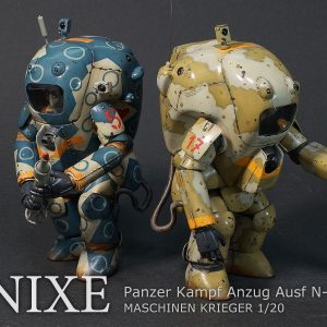 MASCHINEN KRIEGER (SF-3D) PKA Nixe Model Kit Wave